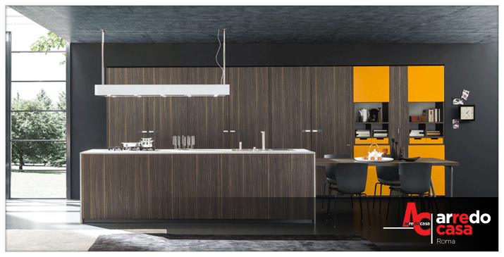 La cappa: elemento di design della cucina - Arredo Casa Roma