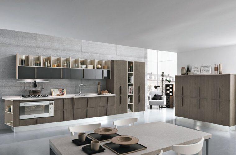 Cucina moderna Wood