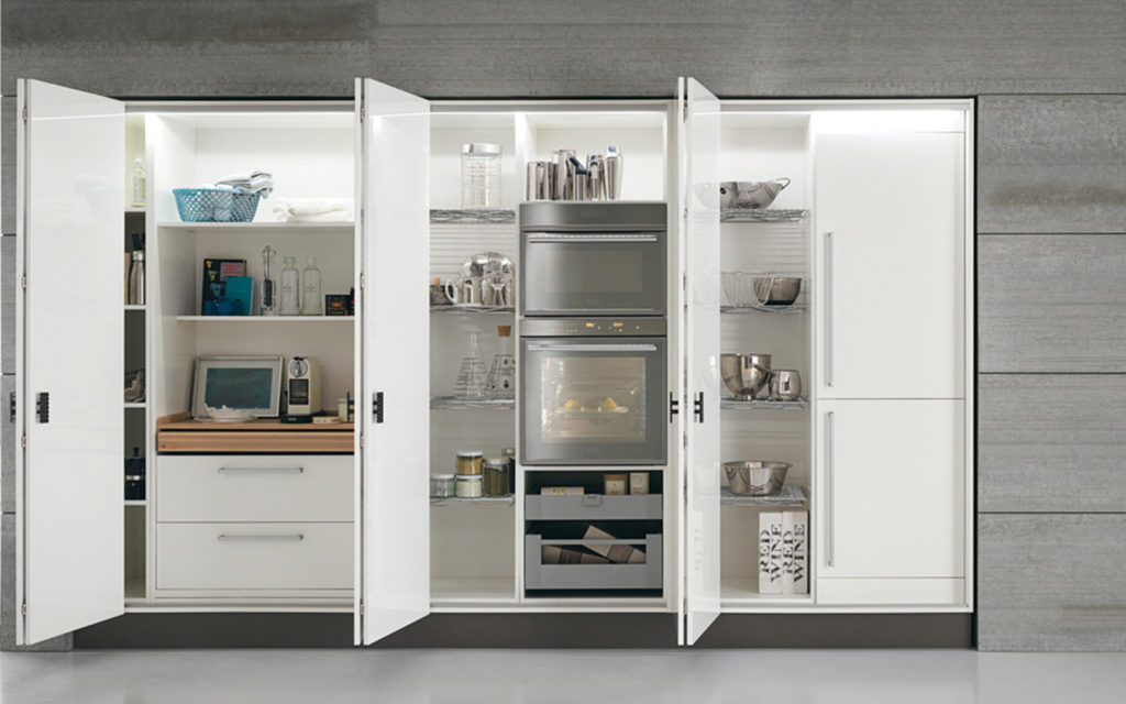 Illuminazione in cucina e luce fu arredo casa roma - Cucina armadio ikea ...