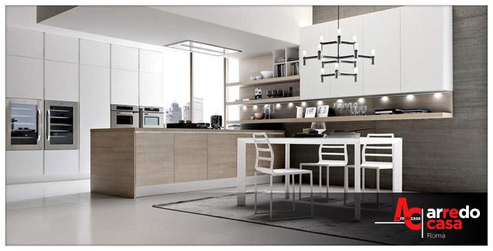 Cucina arredamento minimal arredo casa roma for Arredamento cucina roma