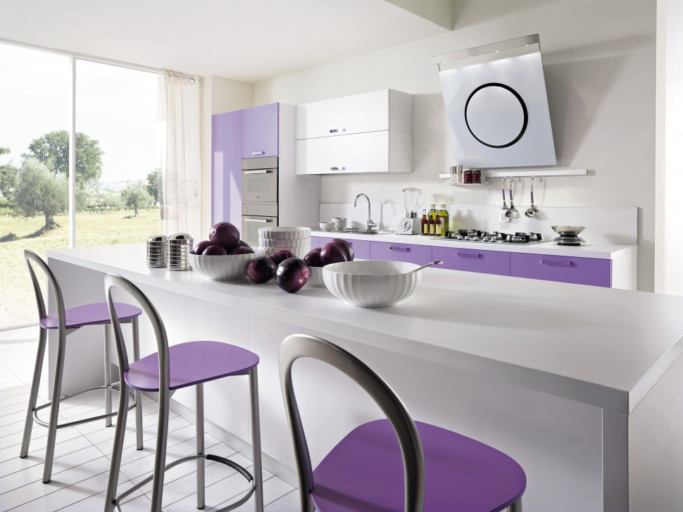 Cucina moderna Quadra Glam