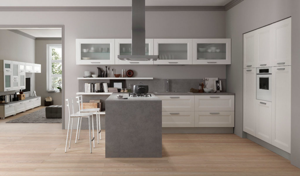 Le cucine moderne in bianco: perché sceglierle?  Arredo Casa Roma