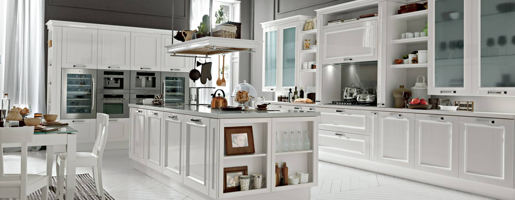cucina-febal-romantica-total-white – Arredo Casa Roma