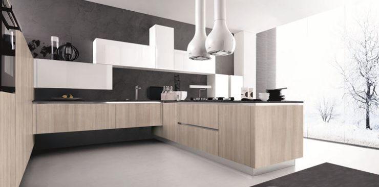 Una cucina pratica una questione di altezza arredo casa - Pensili per cucina ...